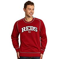 Men's Antigua Cincinnati Reds Volt Fleece Pullover