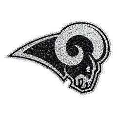 Los Angeles Rams Bling Emblem