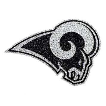 Los Angeles Rams Bling Emblem