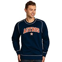 Men's Antigua Houston Astros Volt Fleece Pullover