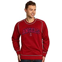 Men's Antigua Los Angeles Angels of Anaheim Volt Fleece Pullover