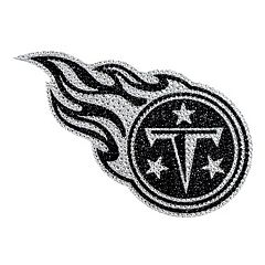Tennessee Titans Bling Emblem