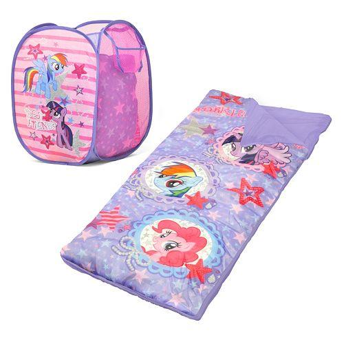 "My Little Pony ""Best Friends"" Hamper & Sleeping Bag Set - Girls"