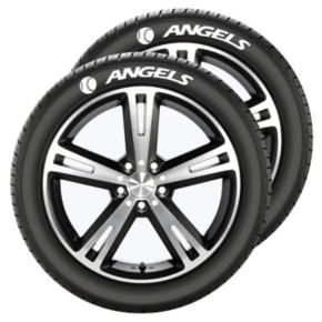 Los Angeles Angels of Anaheim Tire Tatz