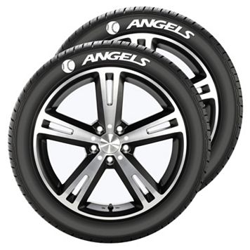 Los Angeles Angels of Anaheim Tire Tatz