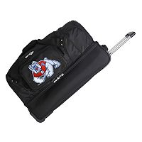 Fresno State Bulldogs 26-in. Wheeled Drop-Bottom Duffel Bag