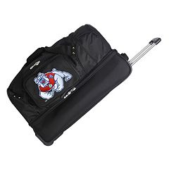 Fresno State Bulldogs 26 in Wheeled Drop-Bottom Duffel Bag