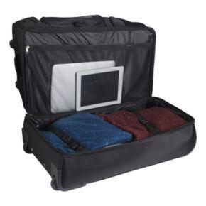 Nevada Wolf Pack 26-in. Wheeled Drop-Bottom Duffel Bag