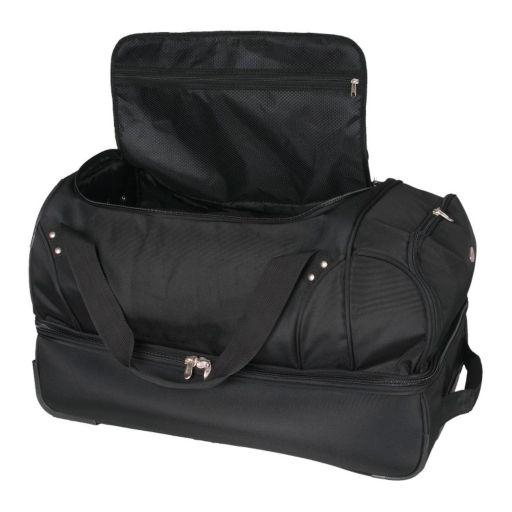 U.S Naval Academy 26-in. Wheeled Drop-Bottom Duffel Bag