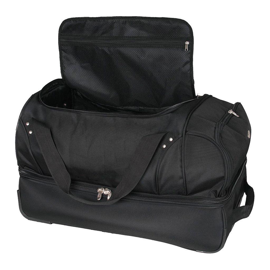Virginia Tech Hokies 26-in. Wheeled Drop-Bottom Duffel Bag