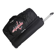 Washington Capitals 26 in Wheeled Drop-Bottom Duffel Bag