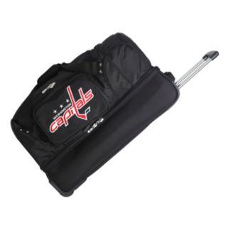 Washington Capitals 26-in. Wheeled Drop-Bottom Duffel Bag