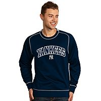 Men's Antigua New York Yankees Volt Fleece Pullover