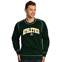 Men's Antigua Oakland Athletics Volt Fleece Pullover