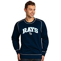 Men's Antigua Tampa Bay Rays Volt Fleece Pullover