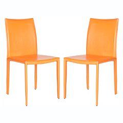 Safavieh 2-piece Karna Dining Chair Set