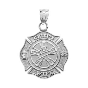 """Insignia Collection Sterling Silver Maltese Cross """"Chief's Wife"""""""