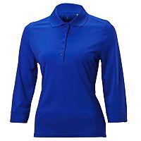 Plus Size Nancy Lopez Luster Golf Top