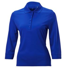 Plus Size Nancy Lopez Luster Golf Top