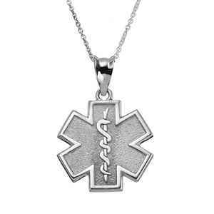 Insignia collection sterling silver star of life pendant necklace aloadofball Images