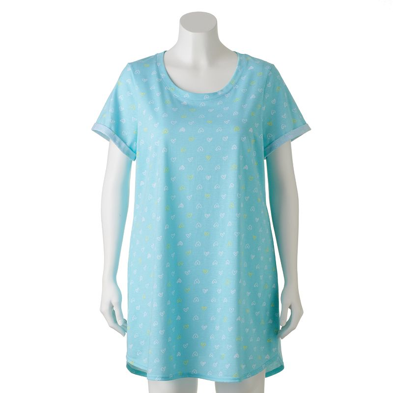 SONOMA life + style Pajamas: Springtime Dreams Sleep Shirt - Women's Plus Size