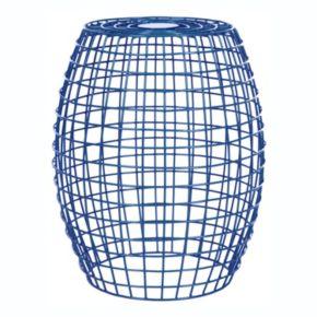 "Safavieh Eric 18"" Grid Stool"