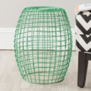 "Safavieh Eric 18"" Grid Stool"