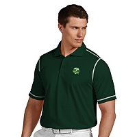 Men's Antigua Portland Timbers Icon Desert-Dry Tonal-Striped Performance Polo