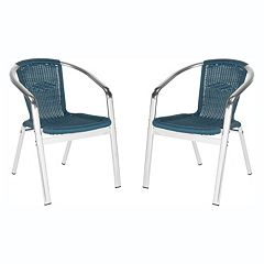 Safavieh 2 pc Wrangell Stacking Chair Set