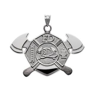 Insignia Collection Sterling Silver Maltese Cross Pendant