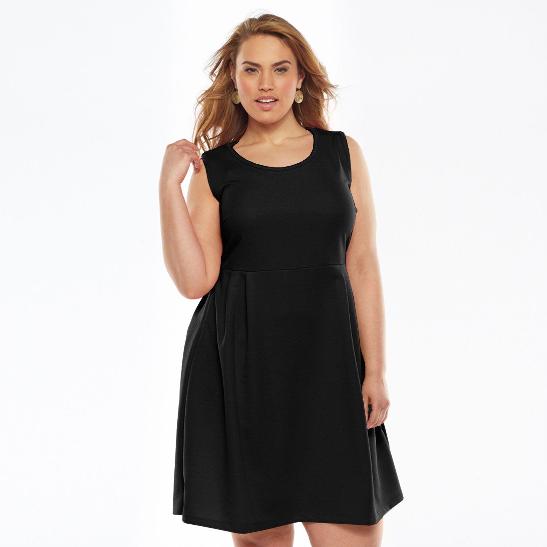 Black dress ross