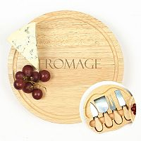 Cathy's Concepts Fromage 5-pc. Cheese Board Set