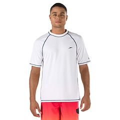 Speedo Solid Swim Tee - Big & Tall