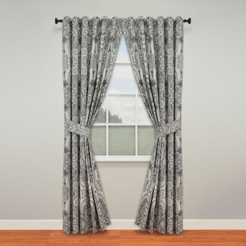 Mint Green Curtain Panels Funky Junk Window Treat