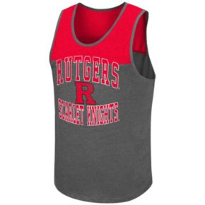 Men's Campus Heritage Rutgers Scarlet Knights Tip Off Tank Top