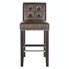 Safavieh Thompson Faux-Leather Counter Stool