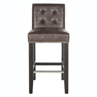 Safavieh Thompson Faux-Leather Counter Stool