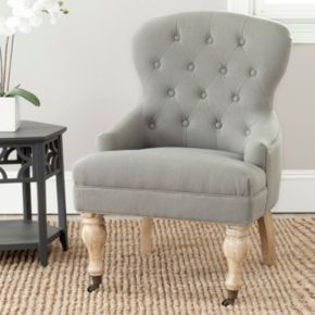 Safavieh Falcon Tufted Arm Chair