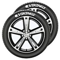 Minnesota Vikings Tire Tatz