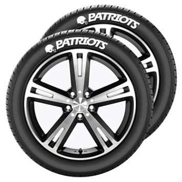 New England Patriots Tire Tatz