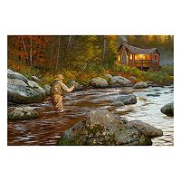 Reflective Art ''Catching a Moment'' Canvas Wall Art