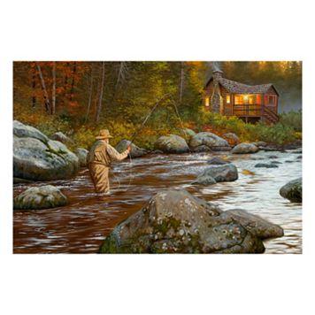 Reflective Art ''Catching a Moment'' Canvas Wall Art