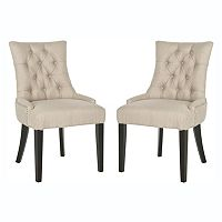 Safavieh 2 pc Ashley Side Chair Set