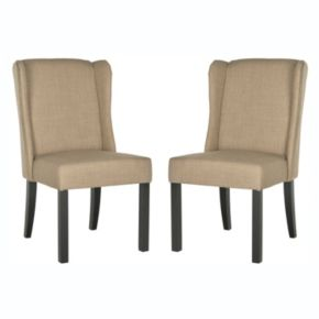 Safavieh 2-piece Hayden Wingback Chair Set