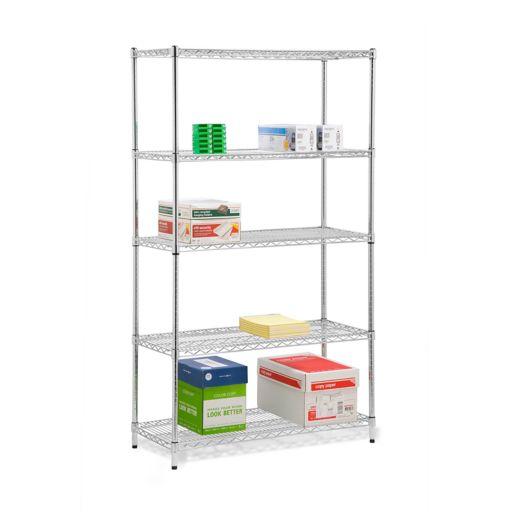Honey-Can-Do 5-Tier Adjustable Storage Shelf