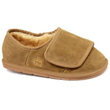 LAMO Men's Suede Wrap Slippers