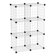 Honey-Can-Do 6-Cube Modular Storage Unit