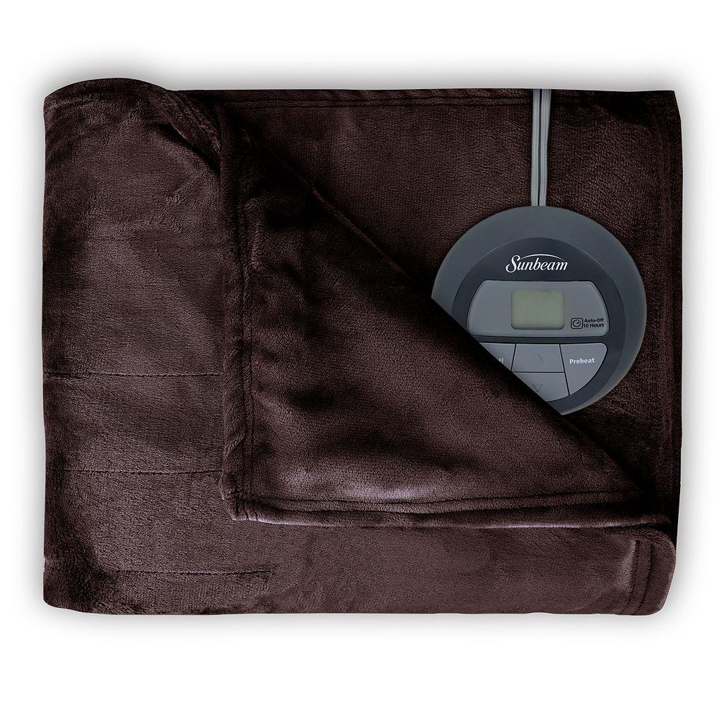 Sunbeam® Slumber Rest® Microplush Electric Blanket