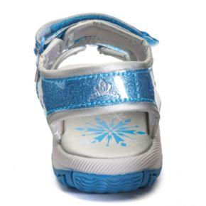 Disney's Frozen Anna and Elsa Girls' Light-Up Sport Sandals