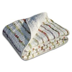 Quilted Reversible Throw